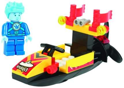 Конструктор пластиковый Город игр Фиксики Транспорт Моторная лодка GI-6264