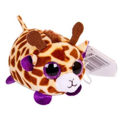 Мягкая игрушка ABtoys Жираф коричневый, 10 см