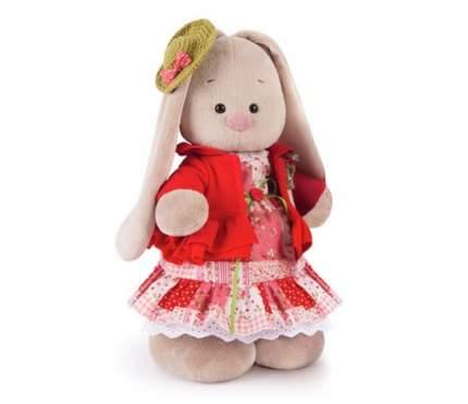 Мягкая игрушка BUDI BASA Stm-217 Зайка Ми Маково-Красный Большая