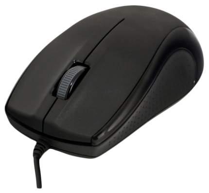 Проводная мышка Delux M375 Black