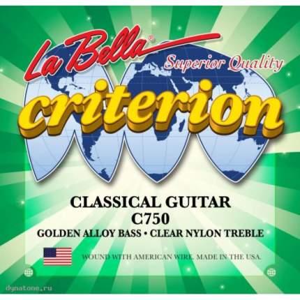 Струны для классической гитары LA BELLA C750