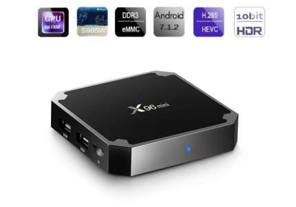 Медиаплеер 2emarket X96 Mini 2/16GB Black