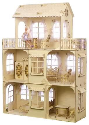 """Сборная деревянная модель """"Большой кукольный дом"""" Теремок"""