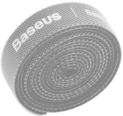 Органайзер проводов Baseus Rainbow Circle Velcro Straps 1m ACMGT-E0G (Grey)
