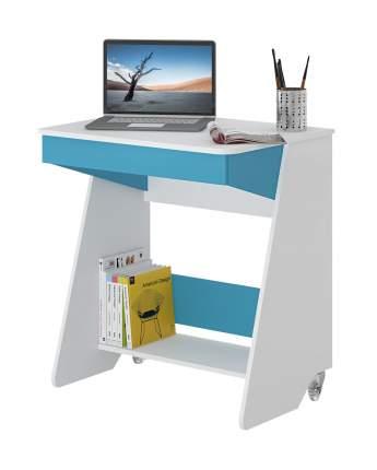 Столик для ноутбука Мэрдэс СК-7 Белый жемчуг / Синий мрамор