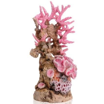 Декорация для аквариума biOrb Reef, орнамент Риф, розовый, 22см