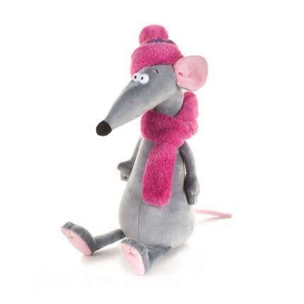 """Мягкая игрушка """"Крыска Лариска в шарфе и шапке"""", 23 см"""