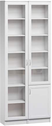 Шкаф книжный Divan.ru Цезарь-1 40х80х200, белый