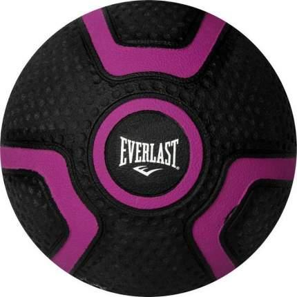 Медицинбол Everlast Rubber 2 кг фиолетовый/черный