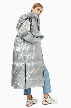 Пуховик женский Odri 19210106 серебристый XS