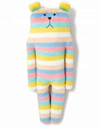 Большая игрушка-подушка Craftholic медведь L Colorful CONFETTI BORDER SLOTH