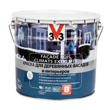 Краска для деревянных фасадов и интерьеров  CLIMATS EXTREMES полуглянцевая 9л. база С