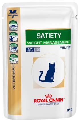 Влажный корм для кошек ROYAL CANIN Vet Diet Satiety Weight Management, мясо, 12шт по 85г