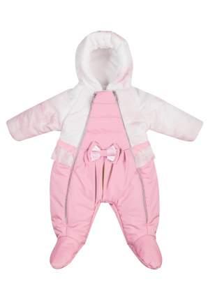Комбинезон Сонный гномик БаблГам розовый, размер 62