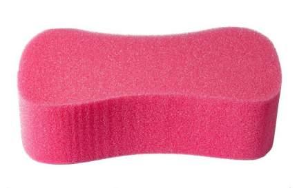 Губка автомобильная Verona, Восьмерка, розовая