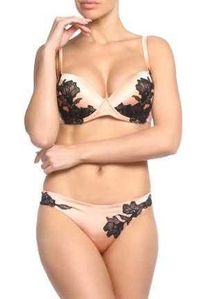 Комплект белья женский Cotton Club SOMMO 1VA B+ELETTO 9VA GA PESCO/NERO бежевый 2B-2 IT