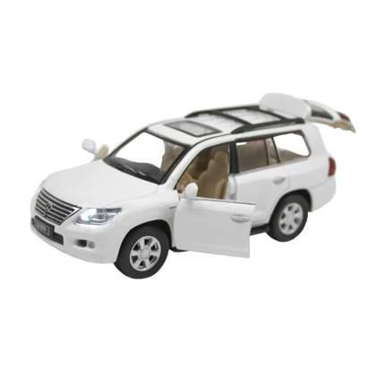 Машинка металлическая Автопанорама 1:32 Lexus LX570, JB1251143