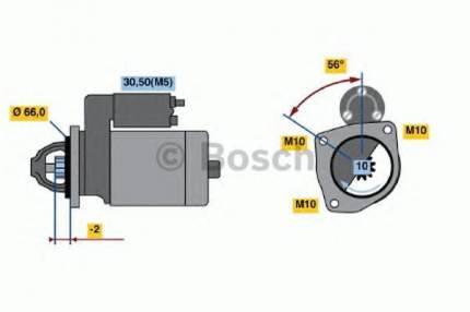 Стартер Bosch 0986018310