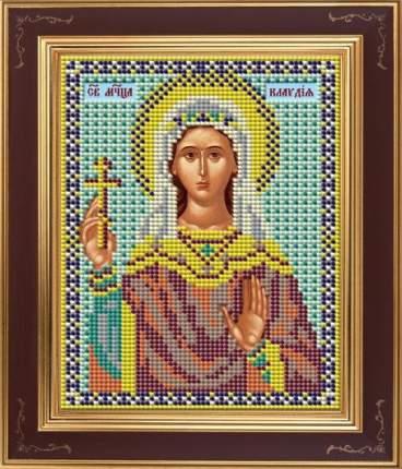Вышивка бисером Galla Collection М252 Св.Клавдия 12х15 см