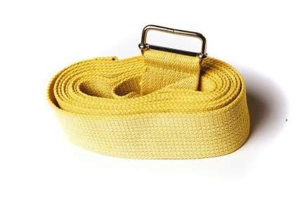 Ремень для йоги RamaYoga Де Люкс цветной, желтый
