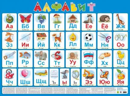 Алфавит русский(настенное издание для детей).
