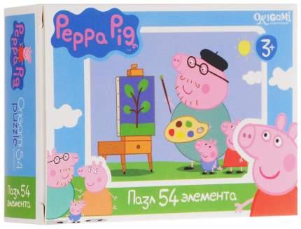 Пазл Оригами свинка пеппа 54 детали