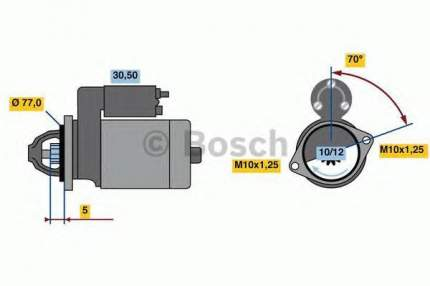 Стартер Bosch 0986022720