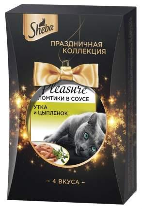 Влажный корм для кошек Sheba Pleasure  Праздничная коллекция, 340 г