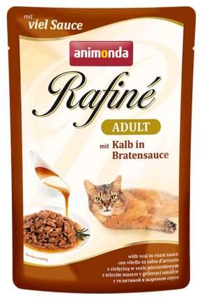 Влажный корм для кошек Animonda Rafine Adult, телятина, 12шт, 100г