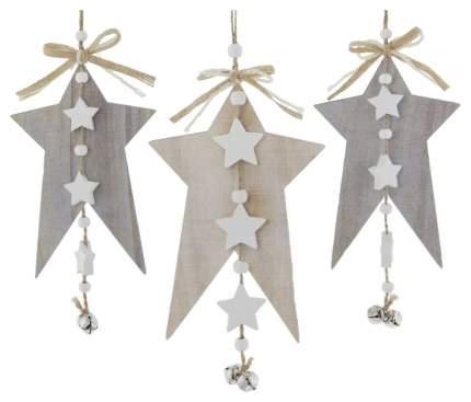 Подвесные украшения Frank «Звезды с колокольчиками» 3 шт 06511