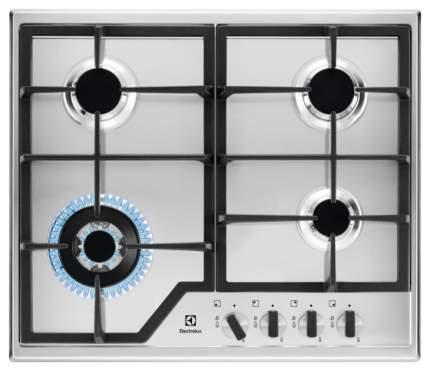 Встраиваемая варочная панель газовая Electrolux GPE363MX Silver