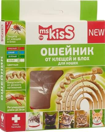 Ошейник для кошек Ms. Kiss репеллентный 38 см MK05-00340 красный