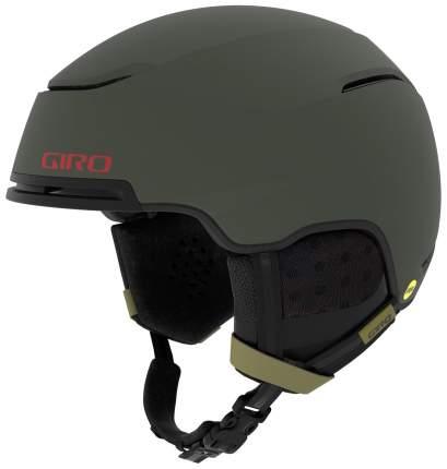 Горнолыжный шлем мужской Giro Jackson Mips 2019, хаки, L
