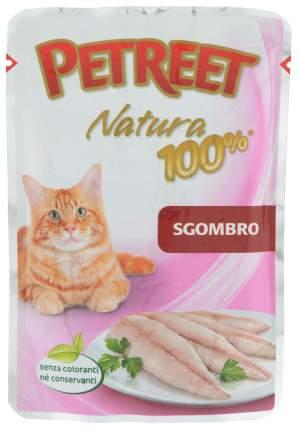 Влажный корм для кошек Petreet Natura Макрель 24шт по 85 г