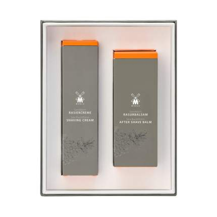 Подарочный набор Muehle Облепиха крем после бритья+бальзам после бритья