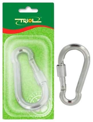 Комплектующее для клеток Triol Карабин-замочек завинчивающийся фигурный 10 мм*10 см