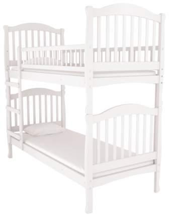 Двухъярусная кровать Nuovita Senso Due Sbiancato отбеленный