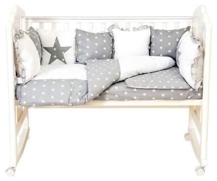 Комплект детского постельного белья Polini Звезды 0001490-3