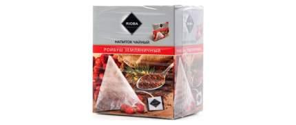 Напиток чайный Rioba ройбуш земляничный 20 пакетиков
