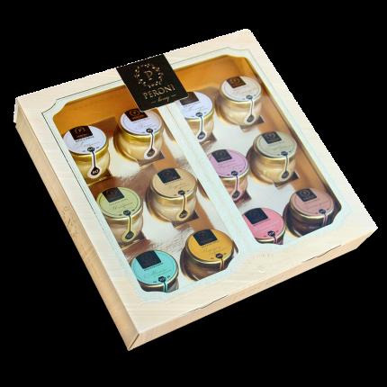 Набор Peroni Honey коллекция вкусов 30 г 12 штук