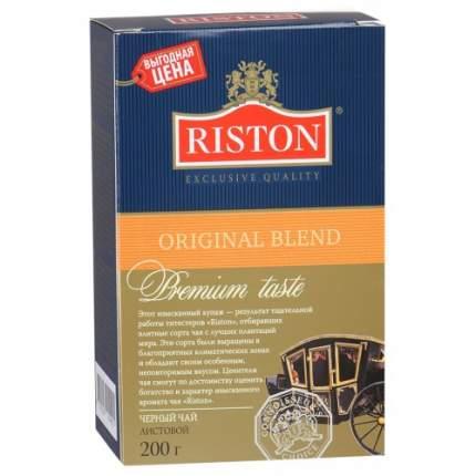 Чай черный листовой Riston ориджинал бленд 200 г