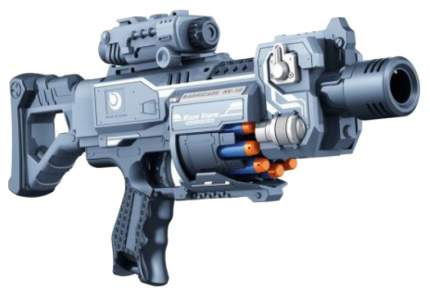 Бластер электронный Наша игрушка с мягкими пулями 20