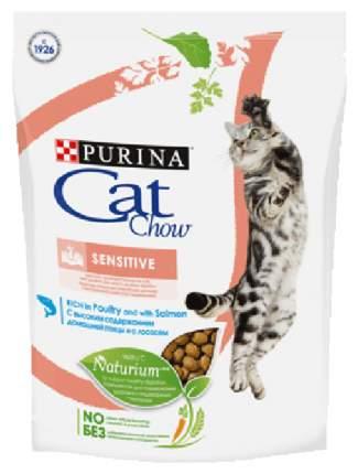 Сухой корм для кошек Cat Chow Special Care Sensitive, лосось,0,4кг