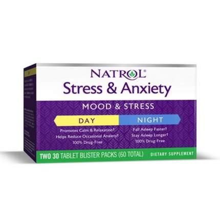 Natrol Stress & Anxiety (60 таблеток)