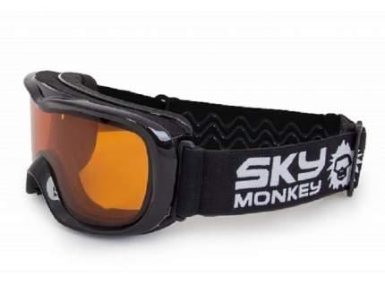 Горнолыжная маска детская Sky Monkey JR11 OR 2019 black