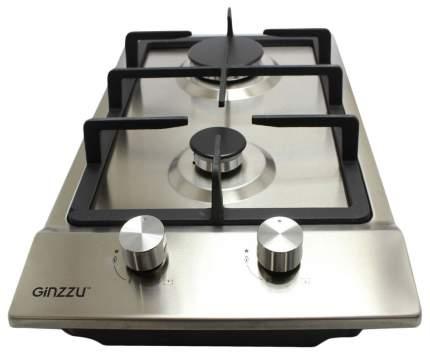 Встраиваемая варочная панель газовая Ginzzu HCG-217 Silver