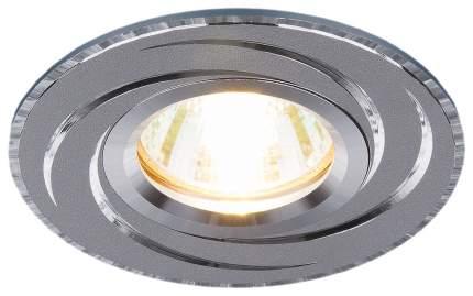 Встраиваемый светильник Elektrostandard 2002 MR16 HL/SL a031339 Графит/Серебро