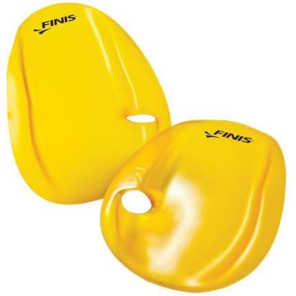 Лопатки для плавания Finis Agility Paddles 1.05.145 желтые M
