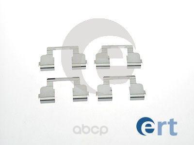 Комплект монтажный тормозных колодок Ert для Renault Sandero 08-, Logan 04- 420042