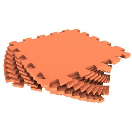 Развивающий коврик Eco Cover 33*33 см оранжевый